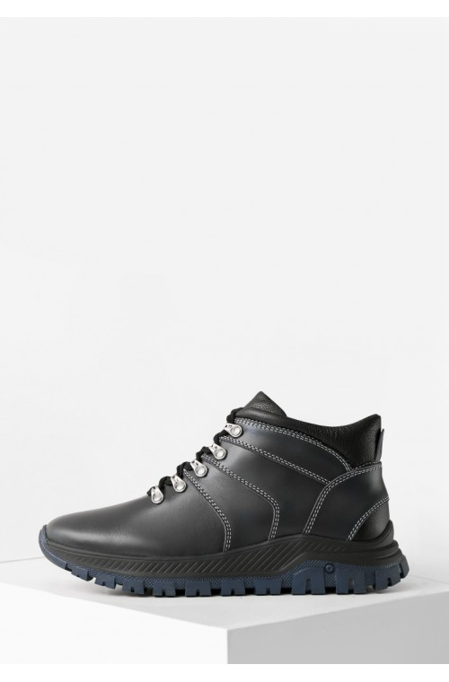 Мужские зимние ботинки на меху в спортивном стиле
