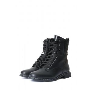 Кожаные зимние кожаные ботинки